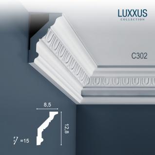 Eckleiste Orac Decor C302 LUXXUS Stuckleiste Zierleiste Stuck Deckenleiste Stuckgesims Decken Wand Dekor Leiste 2 Meter