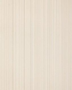 Streifen-Tapete EDEM 557-13 Hochwertige Tapete strukturiert in Textiloptik matt hell-elfenbein grau-beige 5, 33 m2