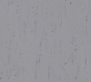 Stein Kacheln Tapete Profhome 364319-GU Vliestapete leicht strukturiert in Steinoptik matt grau 5, 33 m2