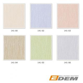 Uni Tapete EDEM 141-03 Elegante Tapete Vinyltapete leicht gestreift hell beige-rot perlmutt - Vorschau 3
