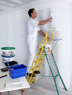 Wandfarbe PROFHOME Objektweiß Innenfarbe Farbe hochergiebig gut deckend matt weiß ELF | 12, 5 Liter Eimer für max. 85 qm - Vorschau 4