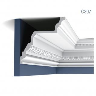 Eckleiste Orac Decor C307 LUXXUS Stuckleiste Zierleiste Decken Wand Stuck Dekor Profil Stuckgesims Dekorleiste 2 Meter