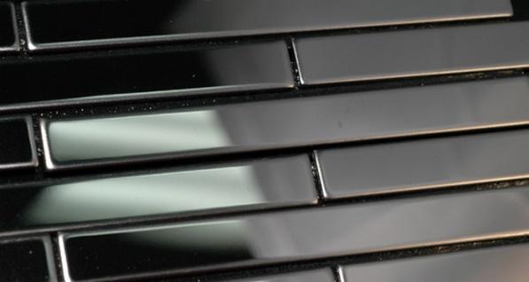 Mosaik Fliese massiv Metall Edelstahl hochglänzend in grau 1, 6mm stark ALLOY Deedee-S-S-M 0, 63 m2 - Vorschau 5