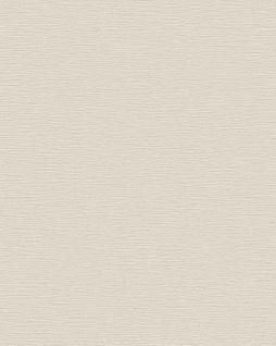 Ton-in-Ton Tapete Profhome BA220072-DI heißgeprägte Vliestapete geprägt unifarben schimmernd creme hell-elfenbein 5, 33 m2