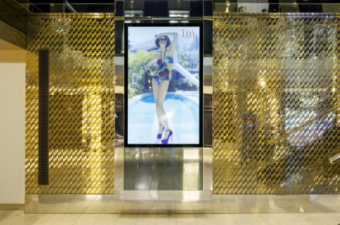 Mosaik Fliese massiv Metall Edelstahl hochglänzend in grau 1, 6mm stark ALLOY Kink-S-S-M Designed by Karim Rashid 0, 93 m2 - Vorschau 5