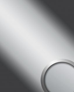 Wandpaneel Spiegel Design Glanz-Optik WallFace 14408 DECO SILVER Wandverkleidung abriebfest selbstklebend silber 2, 6 qm
