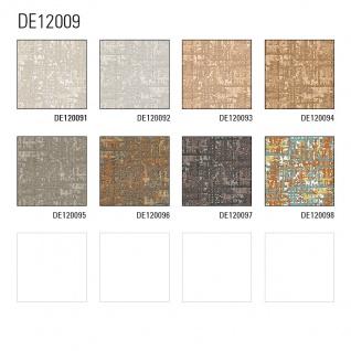 Textiloptik Tapete Profhome DE120096-DI heißgeprägte Vliestapete geprägt mit abstraktem Muster schimmernd kupfer gold beige 5, 33 m2 - Vorschau 3