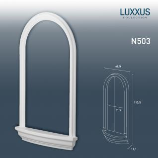 Nische Rahmen Orac Decor N503 LUXXUS für Einbau Stuck Wand aus leichtem stabilem Hartschaum | 112 cm
