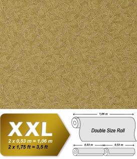 Spachtel Vliestapete Putz Tapete XXL EDEM 925-38 Doppelte Breite Stucco Venezianische spachtel-optik olive gold schimmer 10, 65 qm