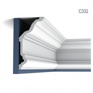 Stuckleiste Dekor Profil Orac Decor C332 LUXXUS Eckleiste Zierleiste Decken Wand Stuck Gesims Dekorleiste 2 Meter