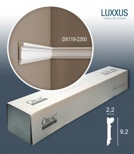 Orac Decor DX119-2300 LUXXUS 1 Karton SET mit 18 Türumrandungen Wandleisten | 41, 4 m