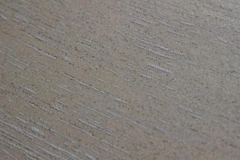 Uni Tapete Atlas TEM-5114-3 Vliestapete strukturiert im Shabby Chic Stil schimmernd beige cappuccino grau-beige 7, 035 m2 - Vorschau 2
