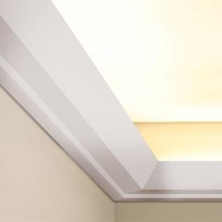 Stuck Zierleiste Orac Decor C358 LUXXUS Eckleiste für indirekte Beleuchtung gesims Deckenleiste   2 Meter - Vorschau 4