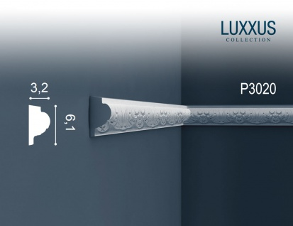 Orac Decor P3020 LUXXUS 1 Karton SET mit 15 Wandleisten Zierleisten | 30 m - Vorschau 2