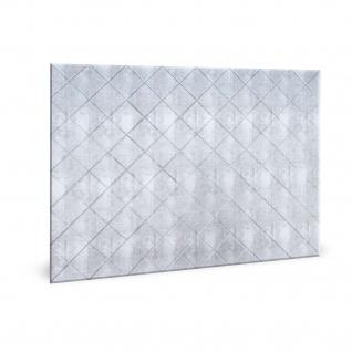 Wandpaneel 3D Profhome 3D 704546 Criss Crosshatch Silver Dekorpaneel glatt im Vintage Look glänzend silber 1, 7 m2