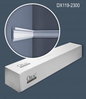 Orac Decor DX119-2300 LUXXUS 1 Karton SET mit 18 Türumrandungen Wandleisten 41, 4 m