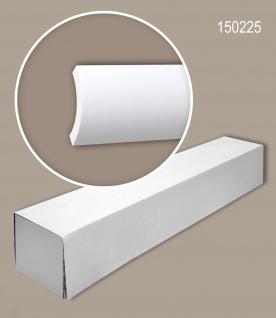 Profhome 150225 1 Karton SET mit 8 Eckleisten Stuckleisten Zierleisten | 16 m