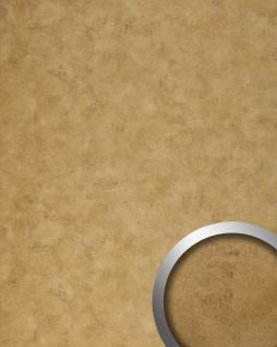 Wandverkleidung Design Platte WallFace 18587 DECO Golden Age selbstklebend Vintage Metall-Optik gold bronze | 2, 60 qm