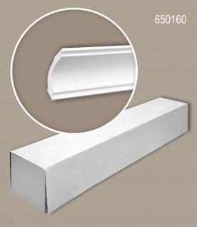 Profhome 650160 1 Karton SET mit 20 Eckleisten Zierleisten Stuckleisten   40 m