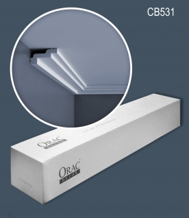 Orac Decor CB531 BASIXX 1 Karton SET mit 45 Stuckleisten 90 m