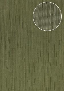 Edle Uni Tapete Atlas COL-497-6 Vliestapete glatt mit Streifen schimmernd grün oliv-grün schilf-grün 5, 33 m2