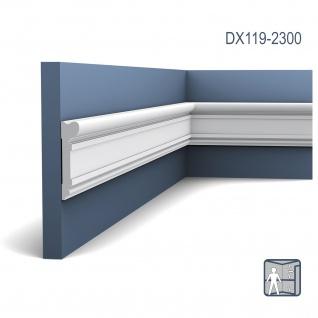 Türumrandung Stuck Orac Decor DX119-2300 LUXXUS Zierleiste Wandleiste Rahmen Dekor Element Friesleiste 2, 3 Meter