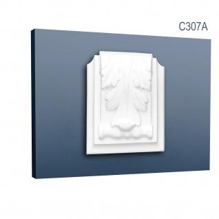 Dekor Profil Orac Decor C307A LUXXUS Stuck Zierelement Wand Dekor Gesims für Profilleiste Deckenleiste C307 - Vorschau 1