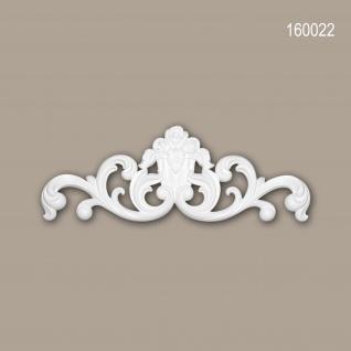 Zierelement PROFHOME 160022 Rokoko Barock Stil weiß