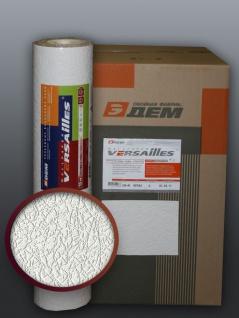 EDEM 206-40 Dekorative Struktur Schaum-Tapete weiß crash putz optik 71 qm - 1 Kart. 9 Rollen - Vorschau 1
