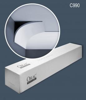 Orac Decor C990 AXXENT 1 Karton SET mit 10 Eckleisten Stuckleisten 20m