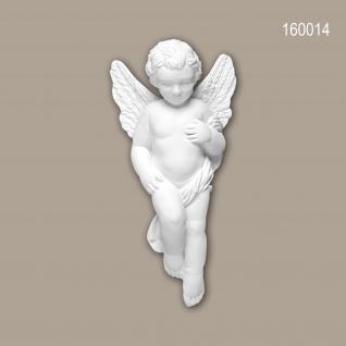 Zierelement PROFHOME 160014 Rokoko Barock Stil weiß