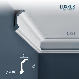 Eckleiste Dekor Profil Orac Decor C321 LUXXUS Decken Wand Stuck Gesims Dekorleiste | 2 Meter