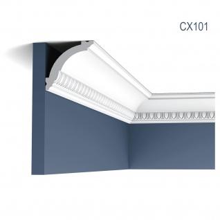 Zierleiste Profilleiste Orac Decor CX101 AXXENT Stuck Profil Eckleiste Wand Leiste Decken Leiste 2 Meter