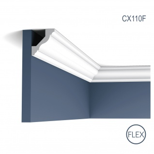 Zierleiste Profilleiste Orac Decor CX110F AXXENT flexible Stuck Profil Eckleiste Wand Leiste Decken Leiste 2 Meter