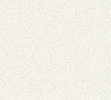 Natur Tapete Profhome 372651-GU Vliestapete leicht strukturiert mit floralen Ornamenten matt weiß silber 5, 33 m2
