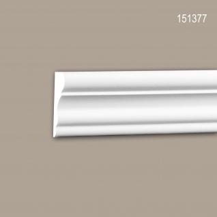 Wand- und Friesleiste PROFHOME 151377 Stuckleiste Zierleiste Friesleiste Neo-Klassizismus-Stil weiß 2 m