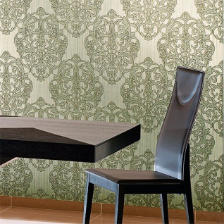 3D Barock Tapete XXL Vliestapete EDEM 648-92 Prunkvolles Damast-Muster lila violett flieder bronze dezente glitzer 10, 65 m2 - Vorschau 3