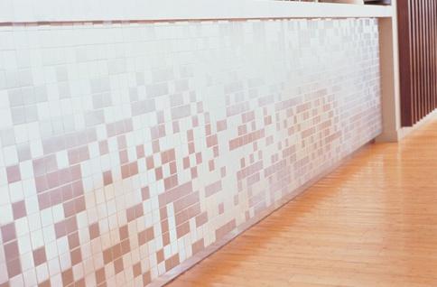Mosaik Fliese massiv Metall Edelstahl gebürstet in grau 1, 6mm stark ALLOY Cinquanta-S-S-B 0, 94 m2 - Vorschau 4