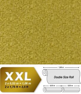 Holz Tapete 3D Vliestapete XXL EDEM 951-28 Tapete in Bambus Optik hochwertige geprägte Struktur Grün olivgrün 10, 65 qm