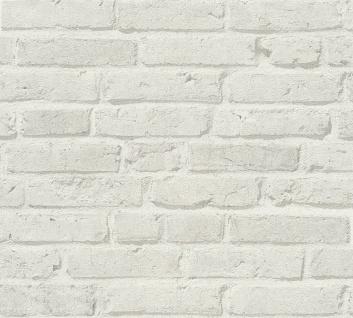 Stein Kacheln Tapete Profhome 355814-GU Vliestapete leicht strukturiert mit Natur-Mustern matt grau 5, 33 m2