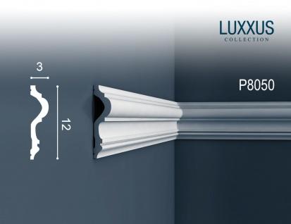 Stuckprofil friesleiste rahmen orac decor p8050 luxxus wand leiste dekor profil relief leiste - Wand zierleiste ...