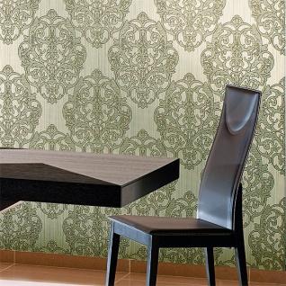 3D Barock Tapete XXL Vliestapete EDEM 648-95 Prunkvolles Damast-Muster hellbraun creme bronze dezente glitzer 10, 65 m2 - Vorschau 3
