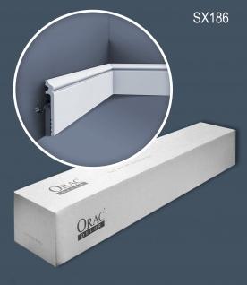 Orac Decor SX186-box 1 Karton SET mit 16 Sockelleisten Stuckleisten 32 m