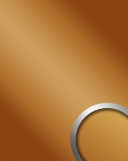 Wandpaneel Spiegel Design Glanz-Optik WallFace 15419 DECO GOLD Wandverkleidung abriebfest selbstklebend gold | 2, 60 qm