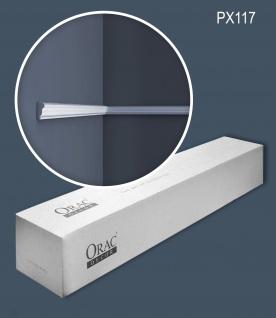 Orac Decor PX117 AXXENT 1 Karton SET mit 10 Stuckleisten Wandleisten 20 m