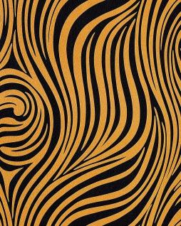 Grafik Tapete EDEM 1016-11 Zebra-Streifen Tapete Struktur-Muster hochwaschbare Oberfläche goldgelb schwarz