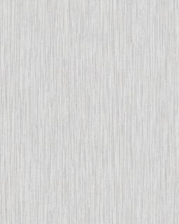 Struktur Tapete Profhome VD219133-DI heißgeprägte Vliestapete geprägt mit Struktur schimmernd weiß hell-grau 5, 33 m2