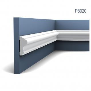 Wandleiste Stuck Orac Decor P8020 LUXXUS Wandprofil Stuck Profil Friesleiste Dekor Leiste Zierleiste Wand | 2 Meter