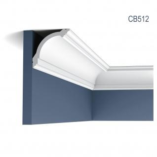 Eckleiste Stuck Orac Decor CB512 BASIXX Zierleiste Stuckprofil Stuckleiste Dekor klassisch Wand Decken Leiste | 2 Meter