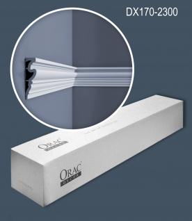 Orac Decor DX170-2300 LUXXUS 1 Karton SET mit 8 Türumrandungen Wandleisten   18, 4 m